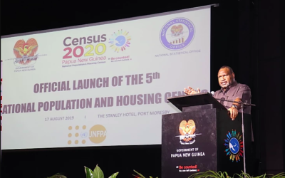 PNG's 5th National Population and Housing Census launched